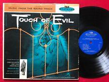 Touch Of Evil ~ Rare Soundtrack Lp (1958) Challenge Chl-602 Joseph Gershenson