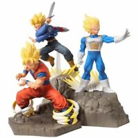 New APF DragonBall Z Son Goku & Vegeta & Trunks Action figure PVC Toy No Box