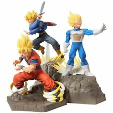 APF DragonBall Z Son Goku & Vegeta & Trunks Action figure PVC Toy New In Box