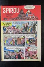 MAGAZINE HEBDOMADAIRE SPIROU N° 1056 du 10 JUILLET 1958