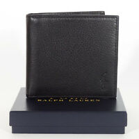 NEW POLO Ralph Lauren  wallet Genuine Soft Leather Men`s with a Gift Box