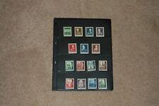 Austria Semi-Postal Complete Sets - Nrs. B245-51(Mh) & B252-59(Mh&U)