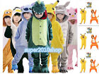 kids Pajamas Pikachu Kigurumi Unisex Cosplay Animal Costume Bodysu sleepwear NEW