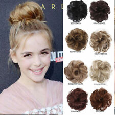Women Girl Curly Elastic Scrunchies Lady Hair Band Hairpiece Synthetic Stylish