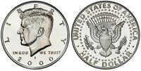 2000-S Silver Proof Kennedy Half Dollar -Gem Deep Cameo Proof- Silver Proof Set!