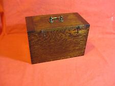 BELLISSIMO Antico Vittoriano CANDELE Oak Box