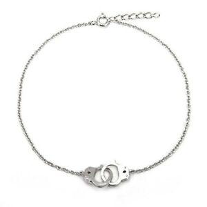 Solid Sterling 925 Silver Handcuff Design Women's Unique Fashion Bracelets