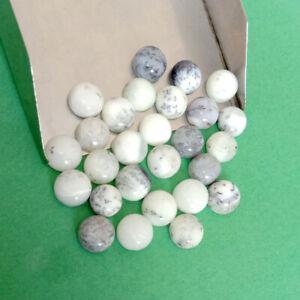 100 Pcs Natural Dendrite 10mm Round Cabochon Rough Gemstone Wholesale Price
