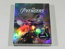 The Avengers (3D+2D) Blu-ray Steelbook Novamedia Full Slip Iron Man Ed #150/1000