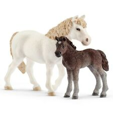 BRAND NEW SCHLEICH - PONY MARE & FOAL - 42423 - GREAT GIFT IDEA