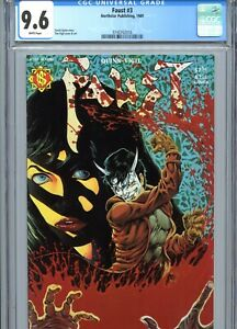Faust #3 CGC 9.6 White Pages Tim Vigil Cover & Art Northstar Publishing 1989
