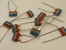 10 Pcs Mullard C280 Tropical Fish Vintage Capacitors 250V 68nF = 0.068uF =683