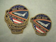 Lot of 10 NASA Space Shuttle Mission STS-61 C Astronauts Iron On Patch