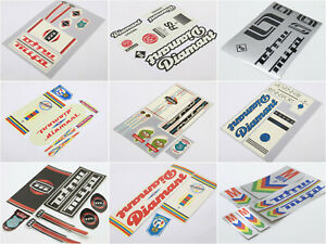 MIFA und DIAMANT DDR Decals Sticker Dekor Set 60/70/80/90er Klapprad Aufkleber