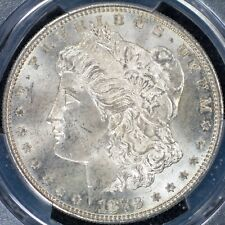 Dollar 1879-S PCGS MS64 Morgan Type United States USA Silver Coin BU UNC