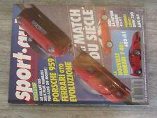 $$$ Revue Sport auto N°307 Porsche 959Ferrari GTO EvoluzioneFerrari F40