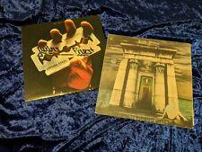 Judas Priest British Steel/ SIN AFTER SIN LPs