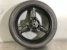 2001 Yamaha R1 Wheel Front Rim, Straight, Tire Ok, See Pic For Paint Details OEM
