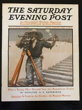 Illustrated  Saturday Evening Post October 1, 1904 F. B. Masters Cover Art