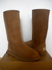 UGG Australia~Classic Tall Boots Chestnut Suede ~ US 7/ 38 (Fits US 8) New #5815