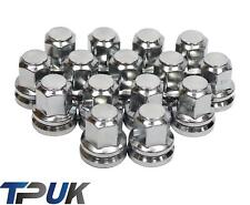 FORD TRANSIT SET OF 16 CHROME WHEEL NUTS ALLOY STEEL M14X2 MK6 MK7 2000 - 2014