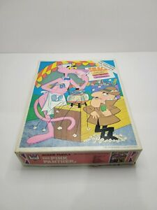 """Vintage Whitman 1977 'The Pink Panther'- """"Snack Stand"""" 100 Piece Jigsaw Puzzle"""