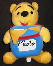 Winnie Pooh 22 cm mit Foto Rahmen Disney Bär the Puuh Puh Bilderrahmen