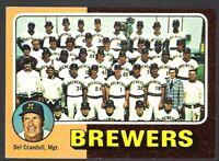 MILWAUKEE BREWERS 1975 TOPPS 'MINI' BASEBALL CARD~~!!