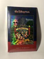 Walt Disney World Four Parks One World Holographic Photo Album SEALED!