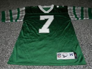 REEBOK THROWBACK PHILADELPHIA EAGLES #7 RON JAWORSKI NFL FOOTBALL JERSEY MEDIUM