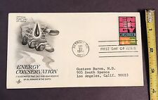 "First Day of Issue 9/23/79 Stamped Addressed Envelope ""Energy Conservation"""