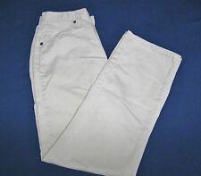 Riders Pants/Jeans Light Beige-Size 6M-30in Inseam-100% Cotton-Straight Leg-EUC