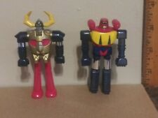 "Vintage Shogun Warriors Collector Series Gaiking & Poseidon 3"" Diecast Figures"