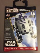 "Star Wars R2D2 MicroKite Mini Mylar Kite New 6.5"" 16.51 cm Disney Ages 5+ NIP"