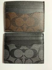 Coach F58110 ID Card Case Signature NWT NWD