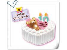 Re-ment Rilakkuma Birthday Party Miniature Birthday Cake - No.6