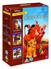 The Lion King Trilogy DVD Collection Kids Movie Gift Set Christmas Gift