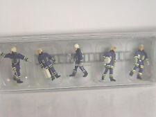 Preiser 10731 pompiers Vert NBC 6 personnages avec accessoires h0 NEUF