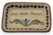Vintage Longpark Art Pottery motto ware small dish from North Berwick - CLT609