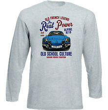 VINTAGE Francese AUTO RENAULT ALPINE A110-Nuovo T-shirt di cotone