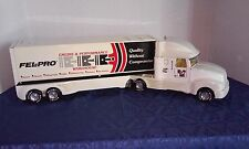VINTAGE, COLLECTABLE FEL-PRO NYLINT STEEL PRESSED TRUCK AND TRAILER 61104-5491