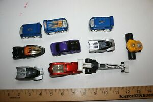 Vintage Hot Wheel McDonalds Happy Meal Premiums Fat Bax Dragster Cars Lowrider
