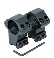 Rifle Scope Mount 1 Pair 11mm 3/8inch Dovetail 25mm 1 inch Ring High Profile CNC