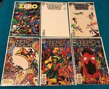 ZERO HOUR 0 1 2 3 4 Beginning of Tomorrow 1st Print 1st App DC CGC it BATMAN