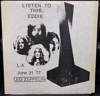 Led Zeppelin – Listen To This Eddie (Original Pressing #393) Colored vinyl LP