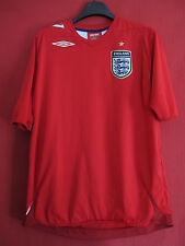 Maillot Umbro Angleterre vintage Manche Courte England Ancien - L