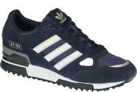 adidas Originals Mens ZX 750 Trainers Navy/Blue/White/Black/