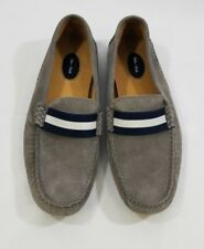 Eden Park Yoke Gray Mens Moccasins Driving Shoes Size 42