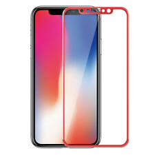 For Apple iPhone X 360° Front+ Back 3D 9H Curved Tempered Glass Screen Protector