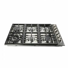 """Z-Line Rc-36 Drop-in 36"""" Cooktop 6 Gas Burners Stainless Steel"""